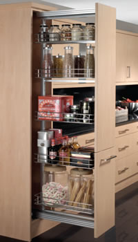 Kitchen Accessories | Pull-out Larder