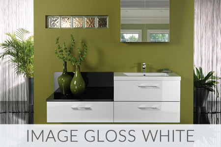 Image Gloss White Bathrooms