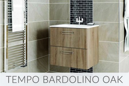 Tempo Bardolino Oak Bathrooms
