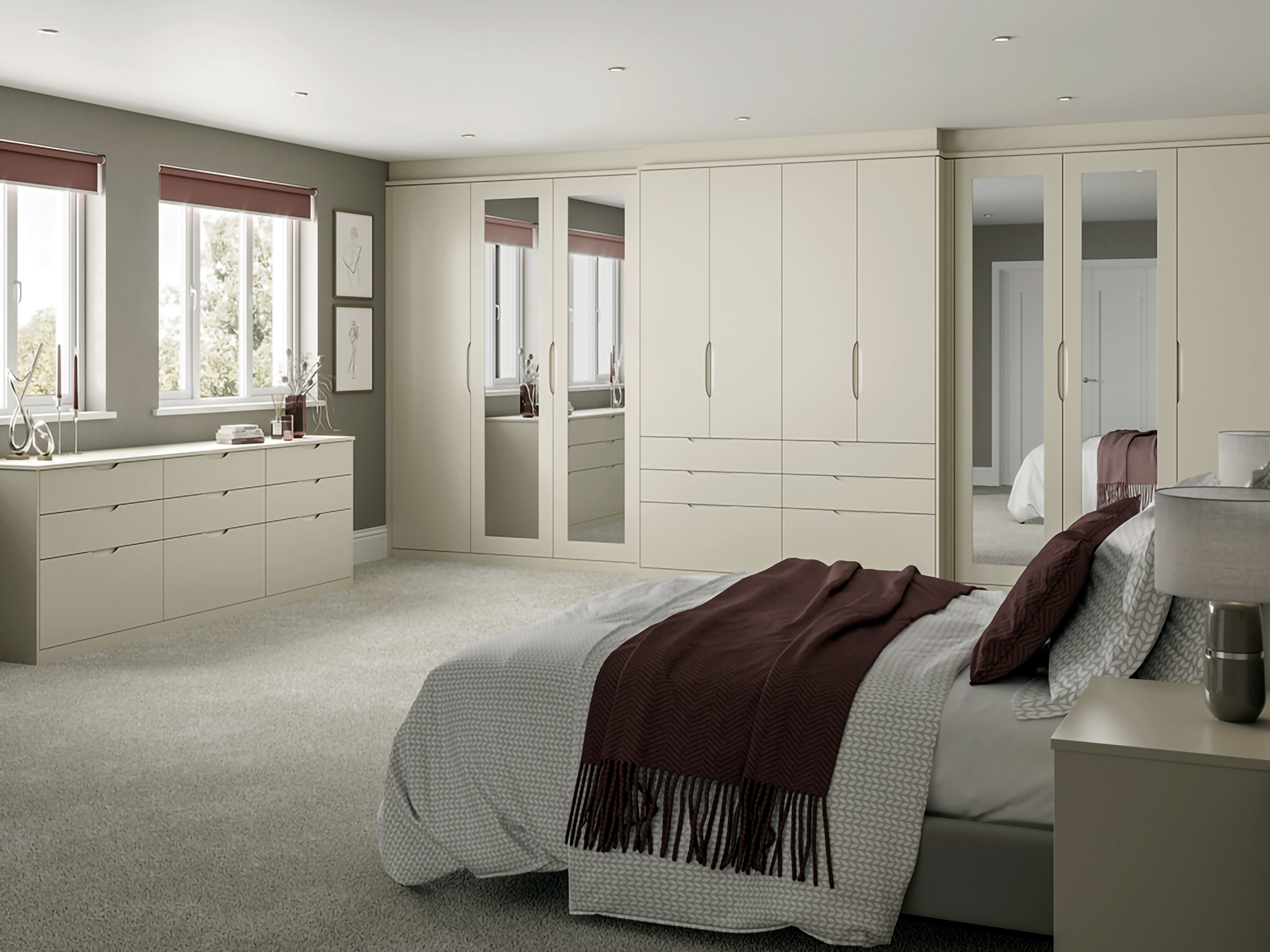 Essenza Oyster Bedroom