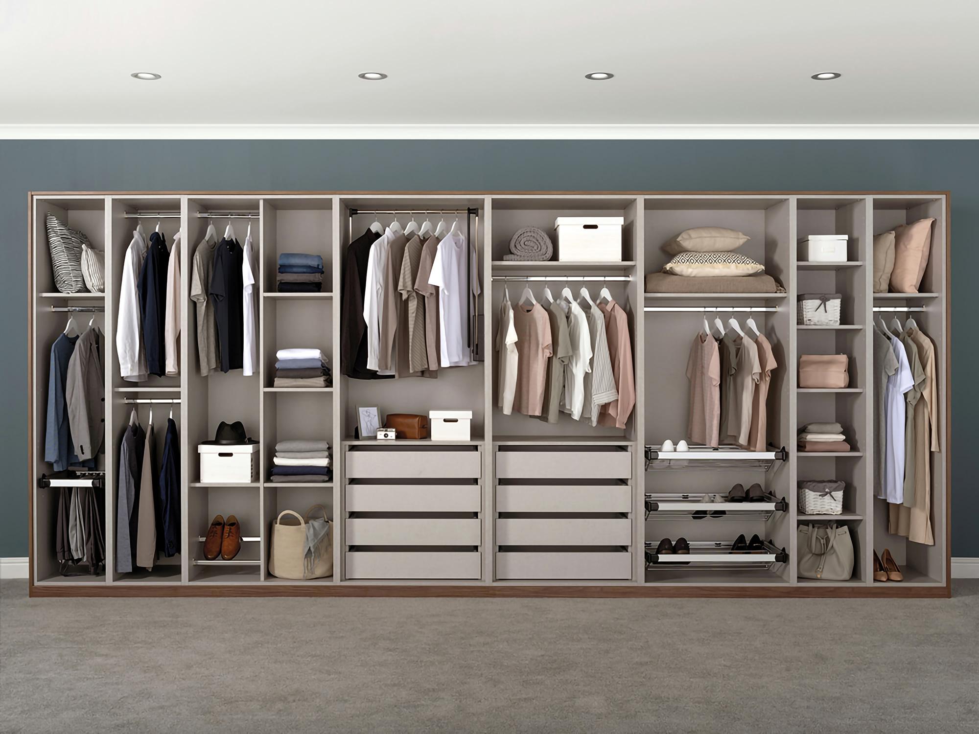 Internal Wardrobe Fitments Bedrooms