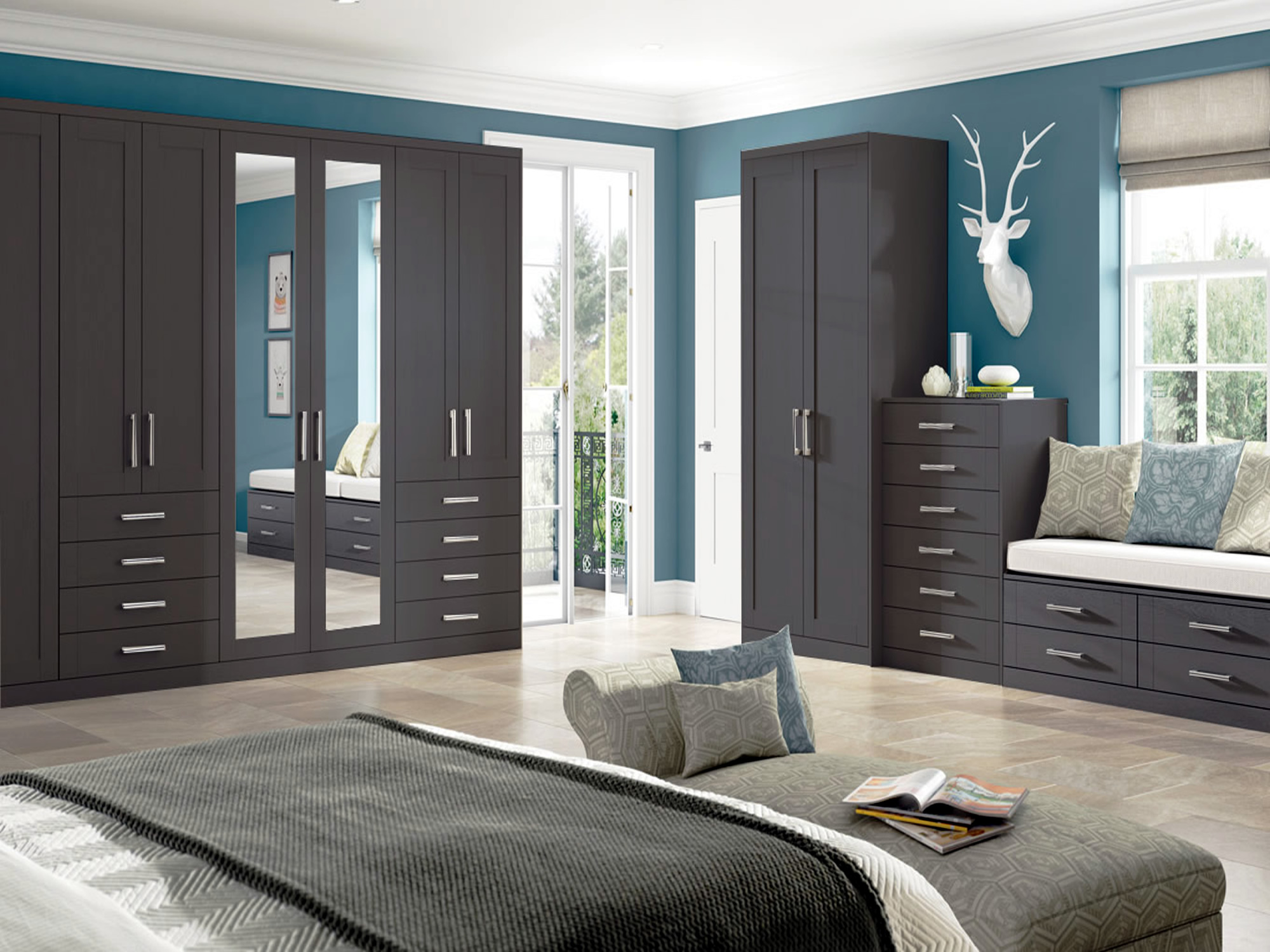 Pendle Anthracite Bedroom