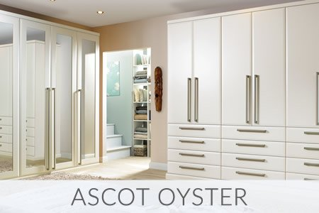 Ascot Oyster Fitted Wardrobes