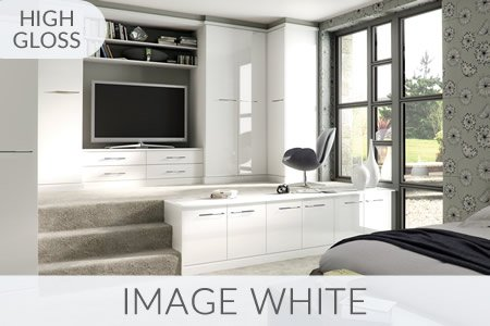 Image White Fitted Wardrobes