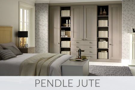 Pendle Jute Fitted Wardrobes