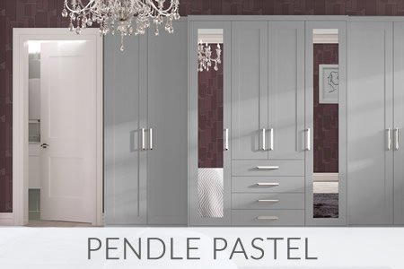 Pendle Pastel Fitted Wardrobes