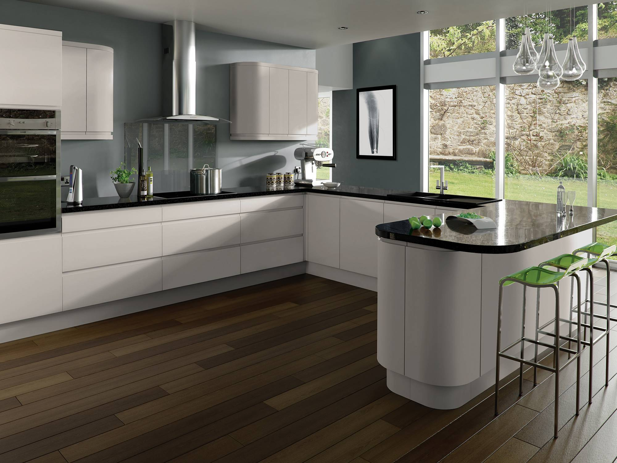 Integra Matt Kashmir Kitchens and Kitchen Design