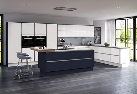 Moderna Matt Kitchens