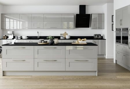 Solent Gloss Kitchens